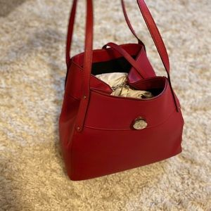 red CHAPS purse